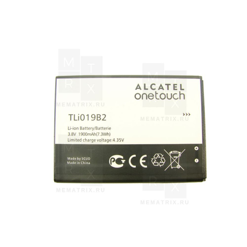 Alcatel One Touch Pop C7 аккумулятор (в)