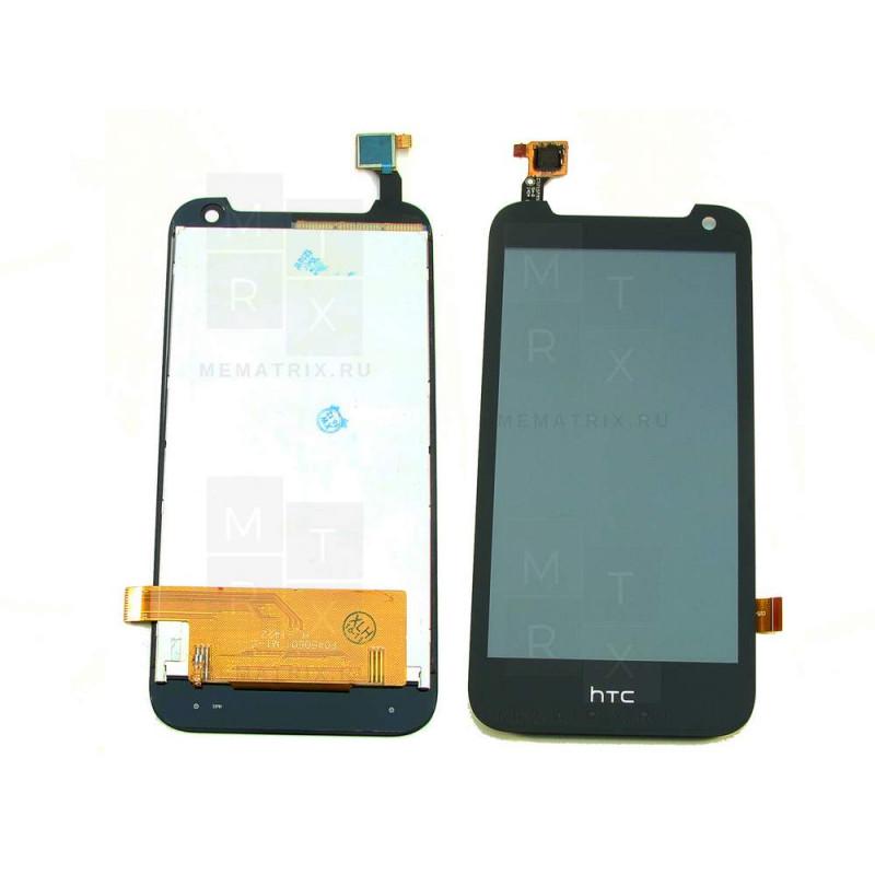 Распродажа HTC Desire 310 (1sim) тачскрин + экран (модуль) черный