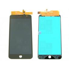 Alcatel One Touch POP STAR 5022D экран + тачскрин (модуль) черный (в)