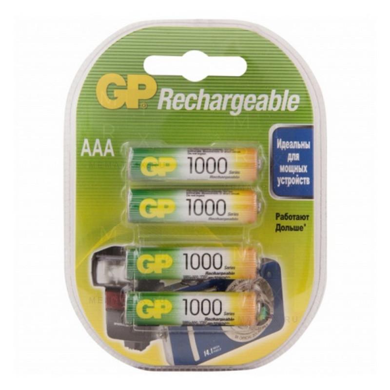 """АКБ """"AAA"""" GP 1000 mAh"""