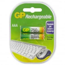 """АКБ """"AAA"""" GP 750 mAh"""