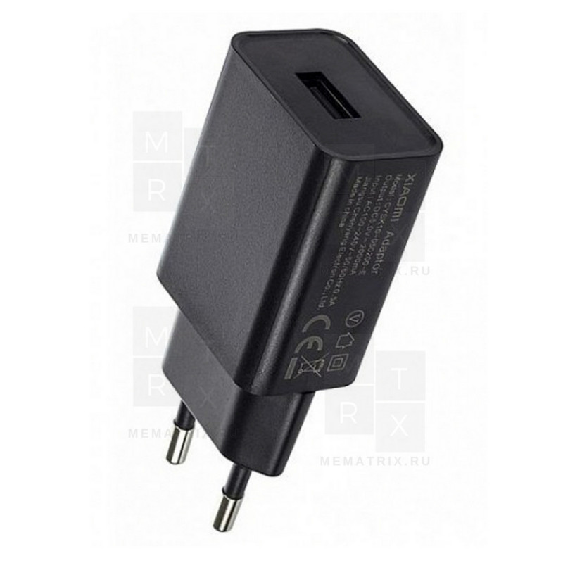 Сетевое зарядное устройство USB Тех.упак. для Xiaomi 2A - Ориг