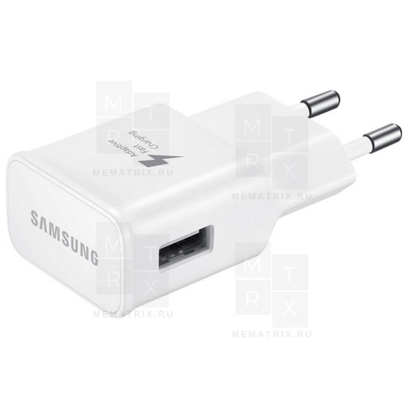 Сетевое зарядное устройство USB Тех.упак. для Samsung 2A - Китай