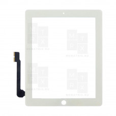 Apple iPad 3 / iPad 4 тачскрин белый