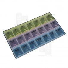 Бокс для хранения мелочей R529A 218*122*20mm (ячейка 35*29mm)