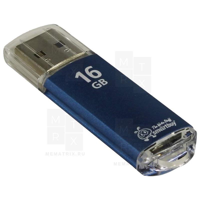 USB флеш-диск 16GB Smart Buy V-Cut Blue (SB16GBVC-B)