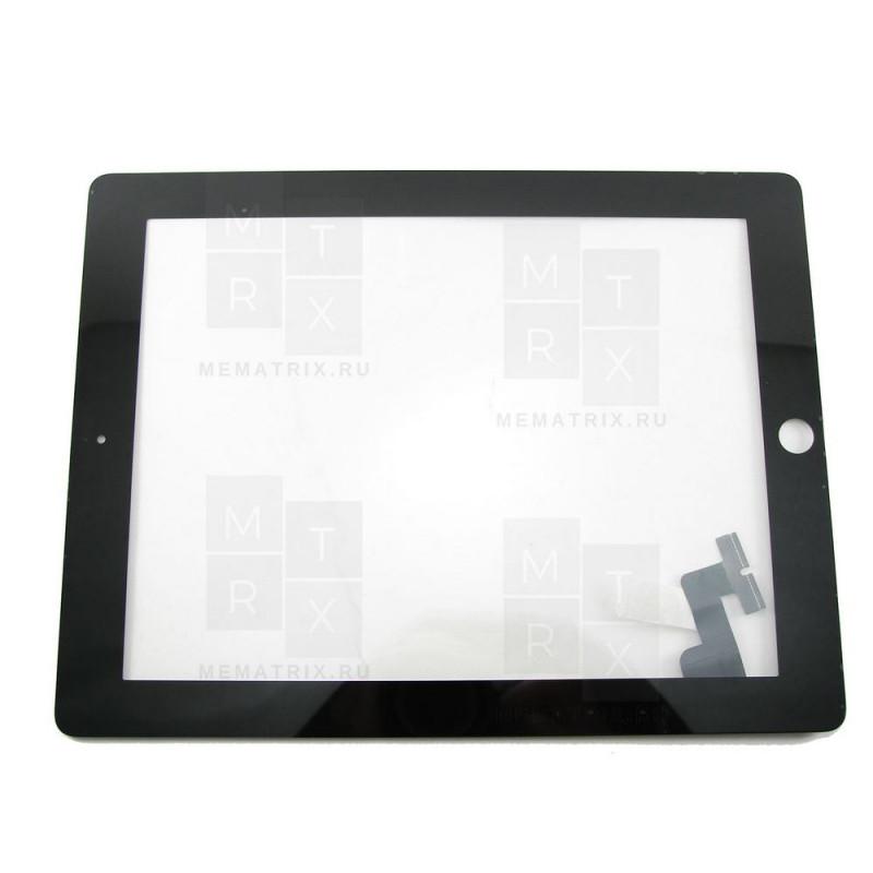 Apple iPad 2 тачскрин черный COPY