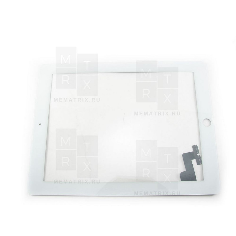 Apple iPad 2 тачскрин (сенсорное стекло) белый COPY