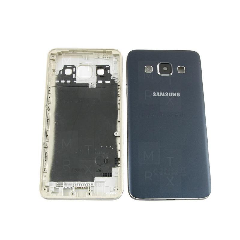 Samsung A3 SM-A300 задняя крышка черная