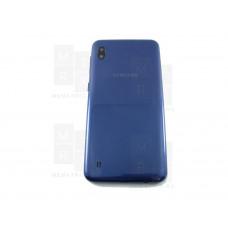 Samsung A10 A105 задняя крышка синяя