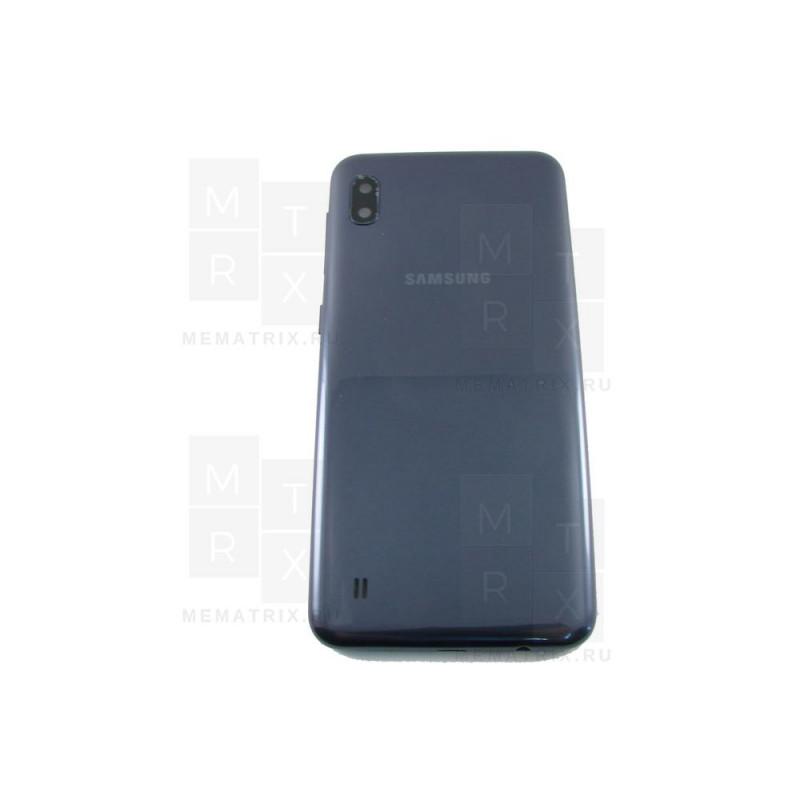 Samsung A10 A105 задняя крышка черная