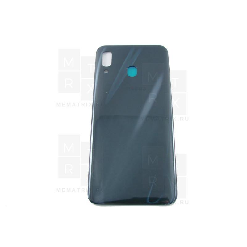 Samsung A205 A20 задняя крышка черная
