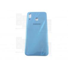 Samsung A205 A20 задняя крышка синяя
