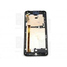 HTC Desire 700 тачскрин + экран (модуль) черный