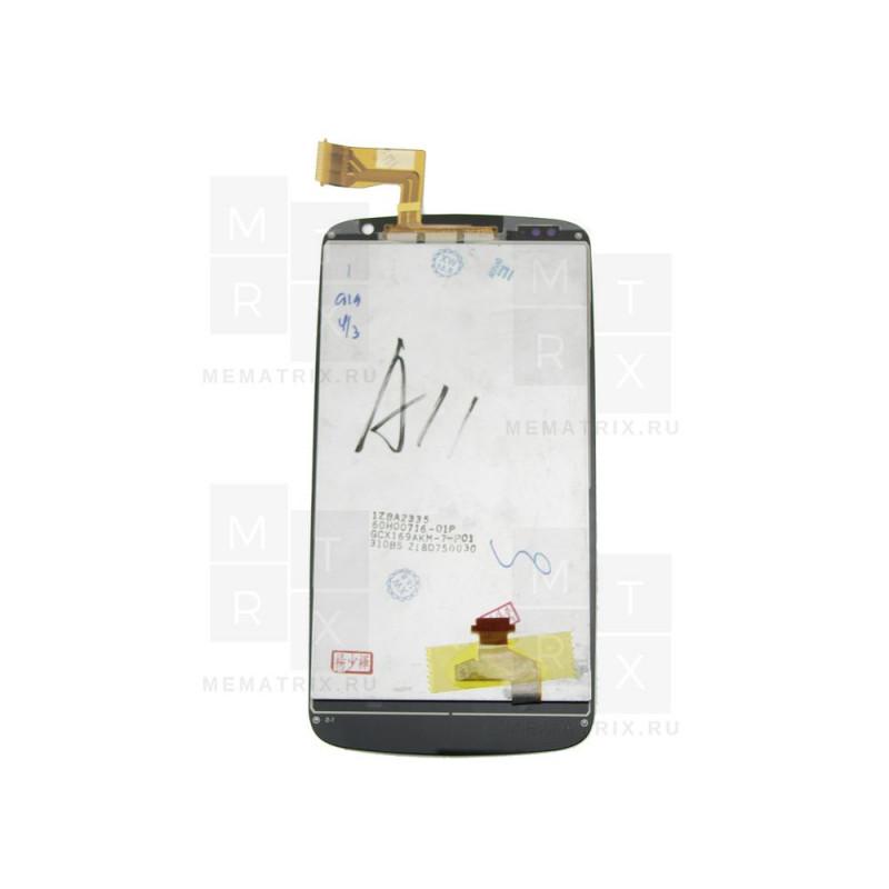 Распродажа HTC Desire 500 тачскрин + экран (модуль) черный