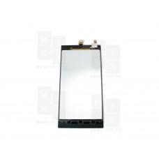 Распродажа Lenovo K900 экран + тачскрин (модуль) черный