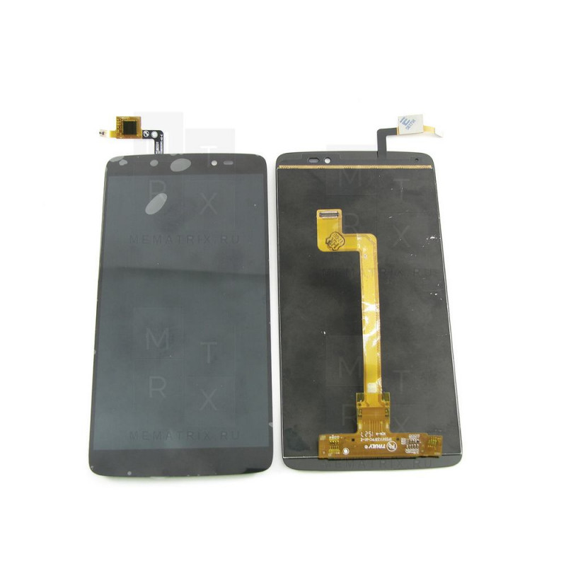 Alcatel OT-6045Y (Idol 3) экран + тачскрин (модуль) черный