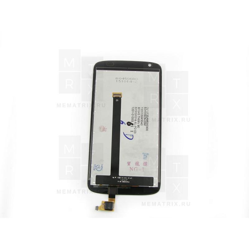 HTC Desire 326G / 526G тачскрин + экран (модуль) черный