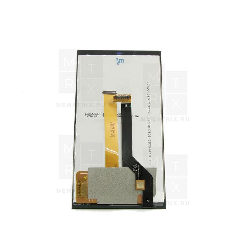 HTC Desire 530 тачскрин + экран (модуль) черный