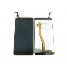 Распродажа Lenovo K6 Note K53A48 тачскрин + экран (модуль) черный (в)