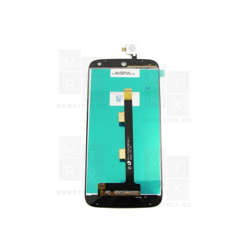 Acer Z630 тачскрин + экран (модуль) черный (в)