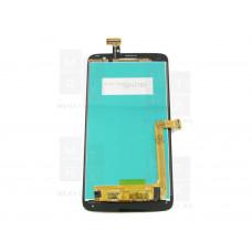Alcatel One Touch SCRIBE HD 8008D экран + тачскрин (модуль) черный (в)