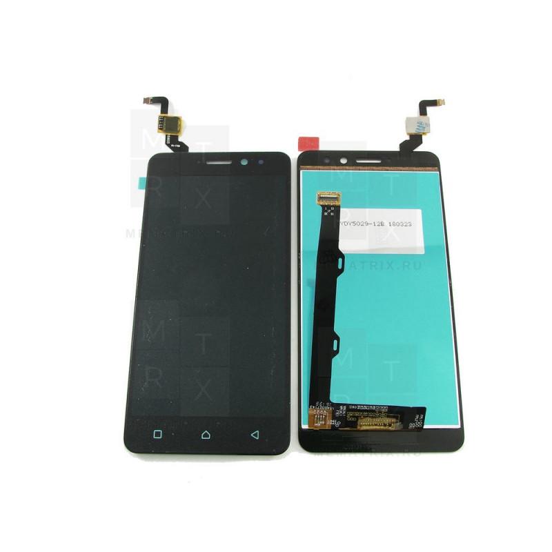 Lenovo K6 Power K33A42 тачскрин + экран (модуль) черный