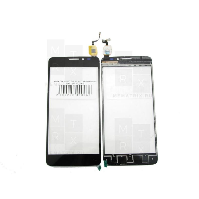 Alcatel OT-6040 / 6040D / 6040x тачскрин черный (в)