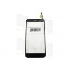 Alcatel One Touch OT-5056D  тачскрин черный (в)