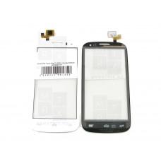 Alcatel One Touch Pop C5 5036X  тачскрин белый (в)